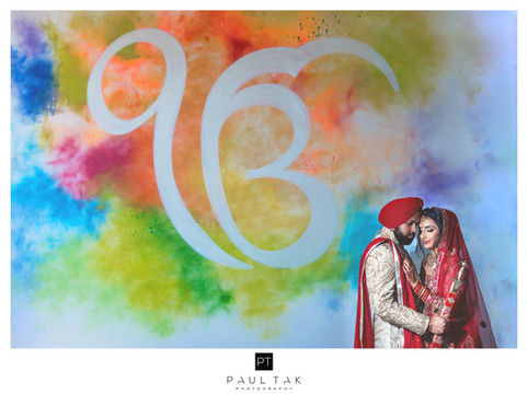 God is one Sikh wedding photography