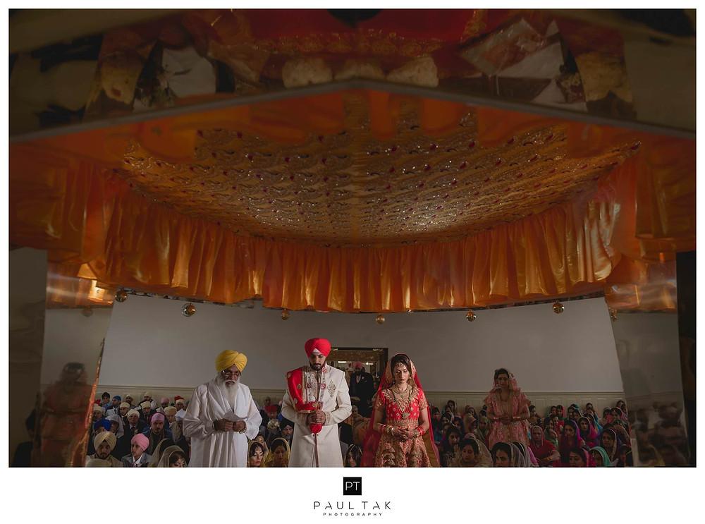 Arddas Sikh wedding photography paul tak