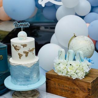 Baby Shower Cake & Cakesicles