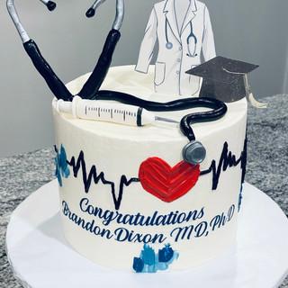 Medical School Grad Cake