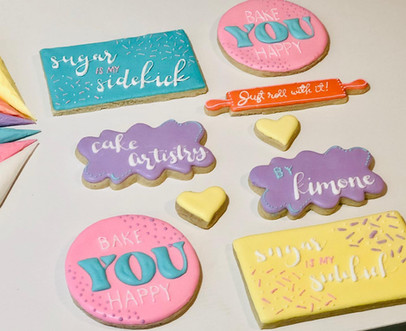 Cookie Lettering