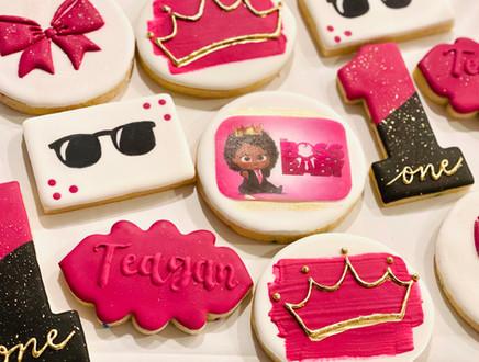 Boss Baby 1st Birthday Cookies
