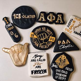 Alpha Phi Alpha Cookies