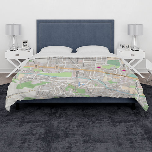 "Stadtmap ""Sommerbettdecke"""