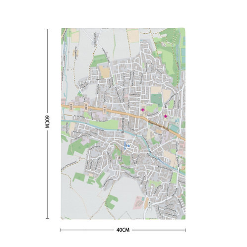 "Stadtmap ""Handtuch"""