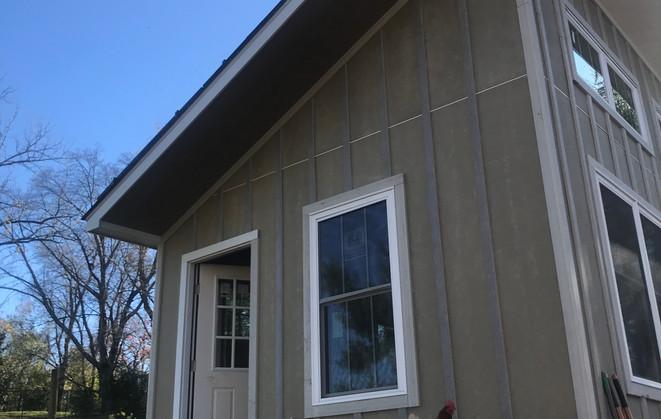 Solar Cottage deck