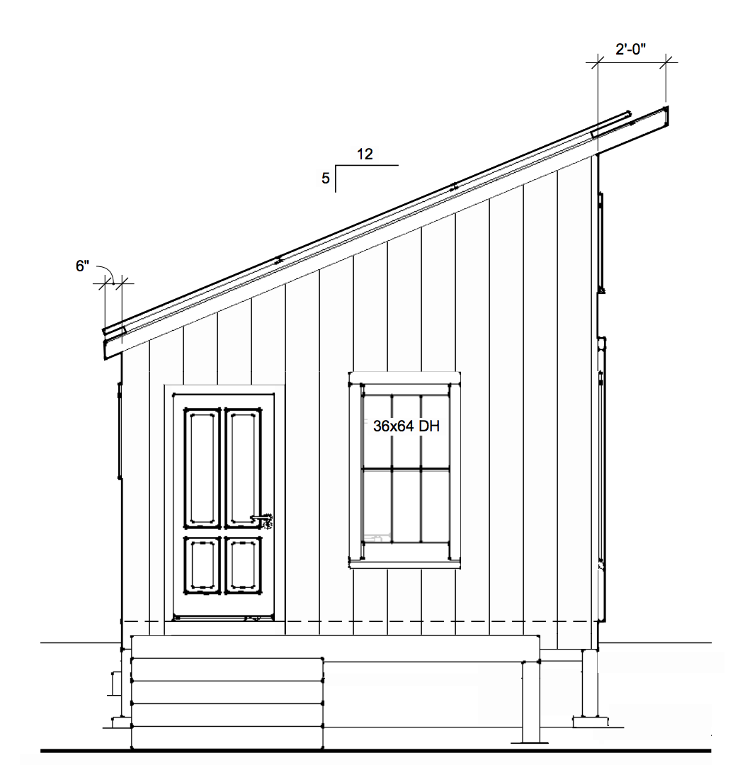 Solar Cottage Front View