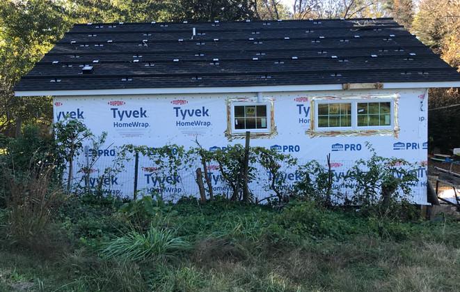 Solar Cottage solar panels