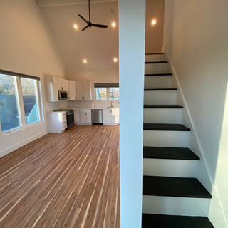New flooring, kitchen, and lights