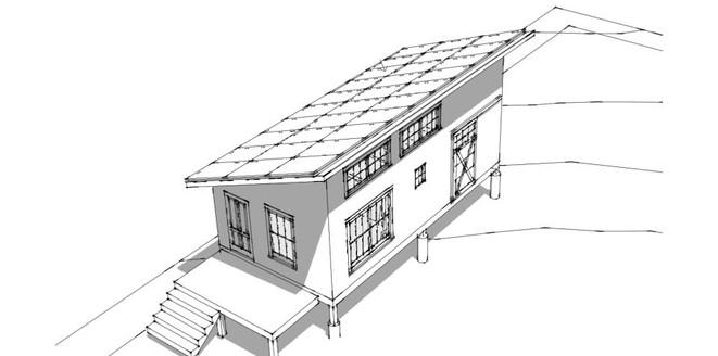 Solar Cottage Rendering