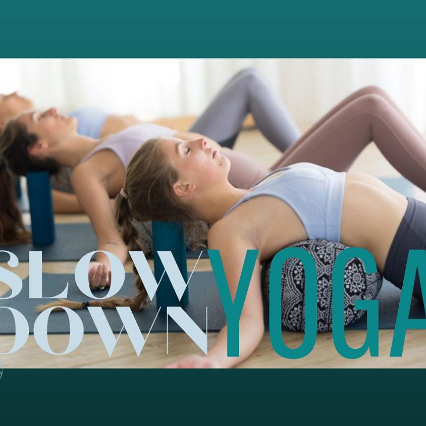 Slow Down Yoga (Vol !!)