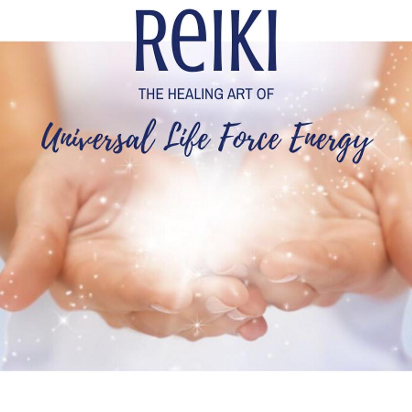 Reiki, the healing art of Universal Life Force Energy