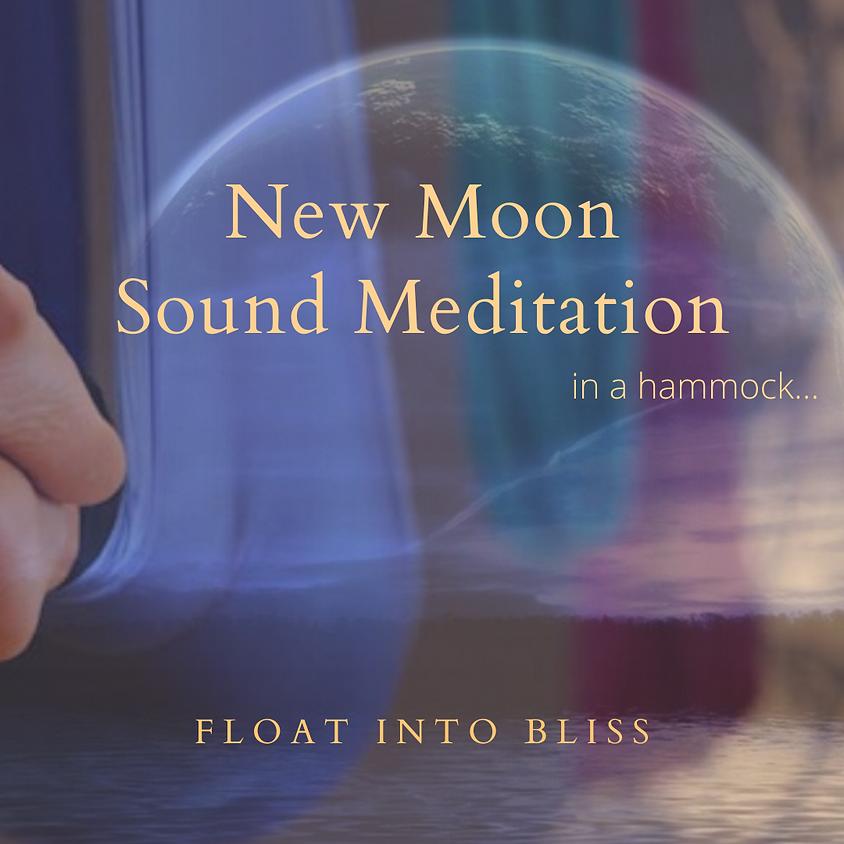Klank-meditatie in een hangmat met de nieuwe maan...