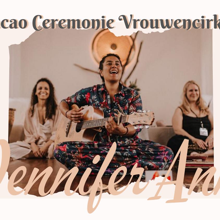 Vrouwencirkel en cacao ceremonie met Jennifer Ann