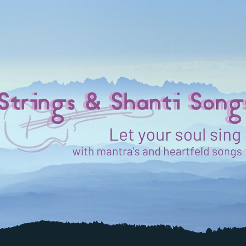 Mantra-zingen en live gitaarmuziek