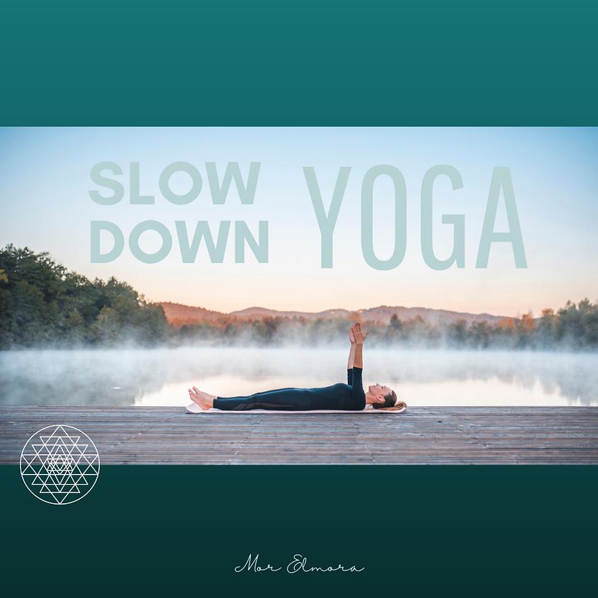 Slow Down Yoga (online).