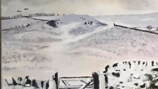 winter view print