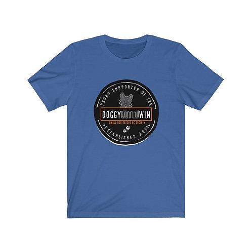 """Unisex """"Doggy Lotto"""" Jersey Short Sleeve Tee"""