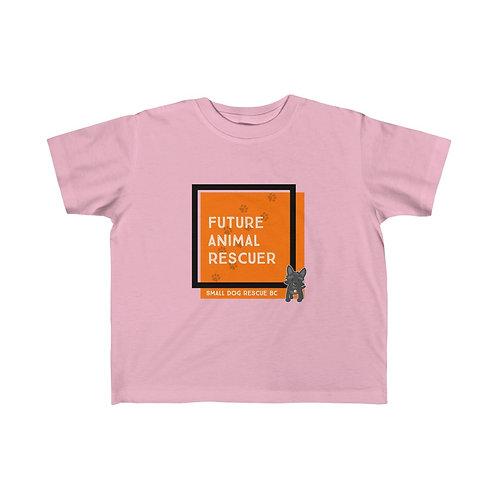 "Kid's ""Future Animal Rescuer"" Jersey Tee"