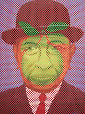 abelartsf 'Homage to Magritte' ©2004