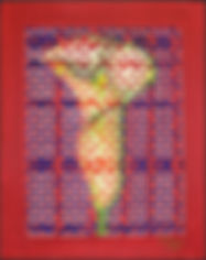 abelartsf 'Calla Lily II' ©2000