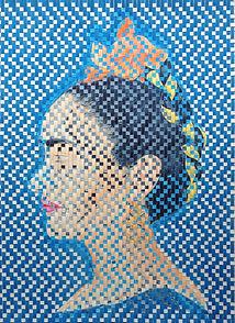 abelartsf 'El Perfil de Frida' ©2016