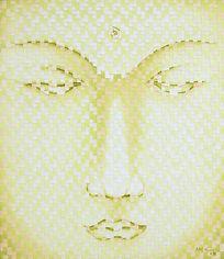 abelartsf 'Green Gold Buddha' ©2004