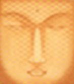 abelartsf 'Rose Red Ochre Buddha' ©2002