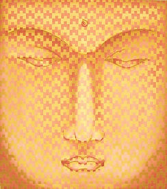 abelartsf 'Rose Red Ochre Buddha' ©2002