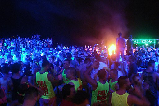 Haad Rin Full Moon Party