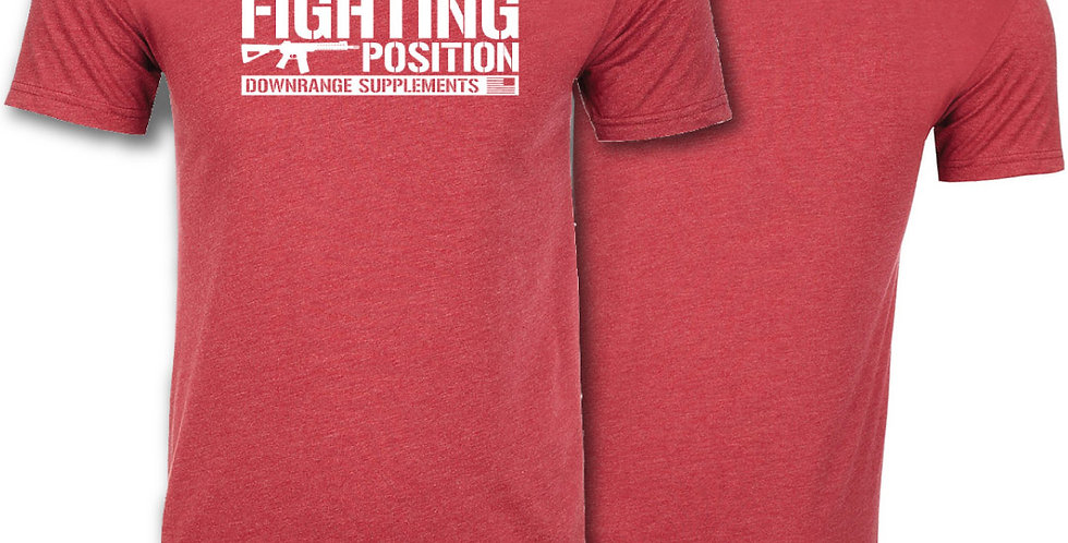DRS Fighting Position Tee \\ Red Friday