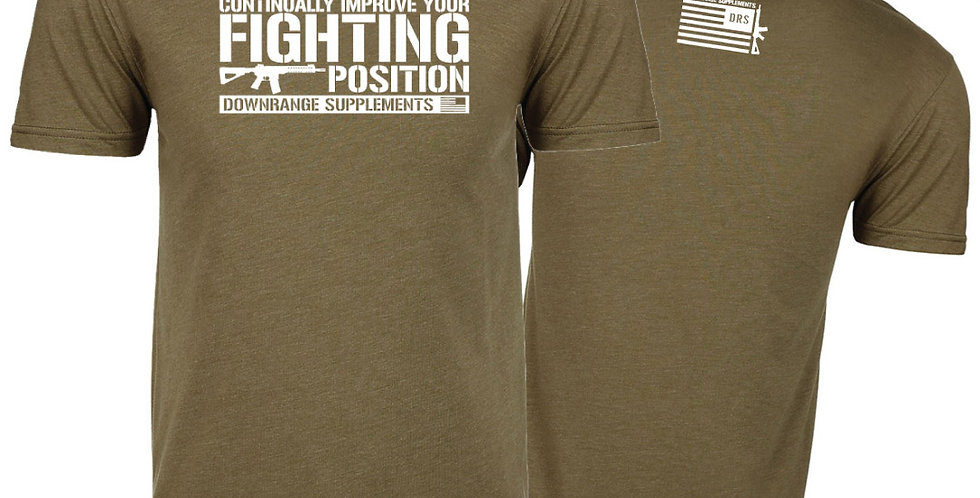DRS Fighting Position Tee \\ OD Green