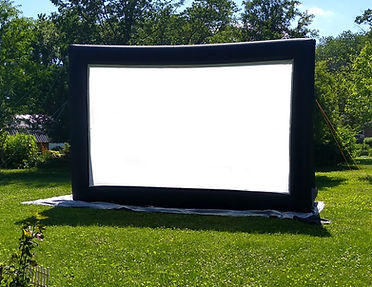 movie screen outdoor rental indianapolis projector