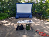 mobile movie theater indiana outdoor movie