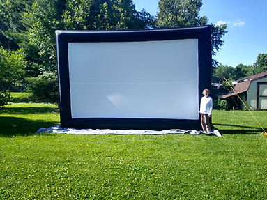 big screen projector rental sound indianapolis