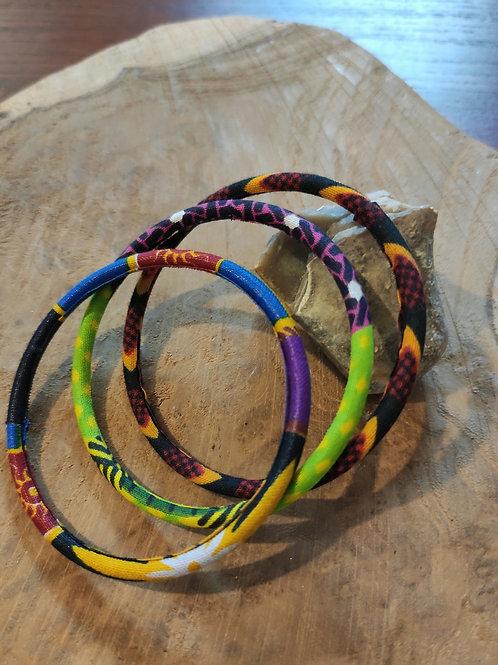 Bracelets en wax