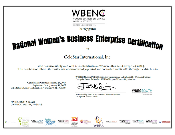 WBENC Certificate - 2021 - 2022.PNG