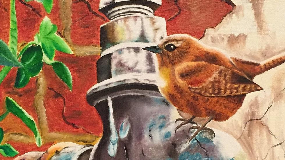 Agua de Vida | Isaac Helguera | Oil on Canvas