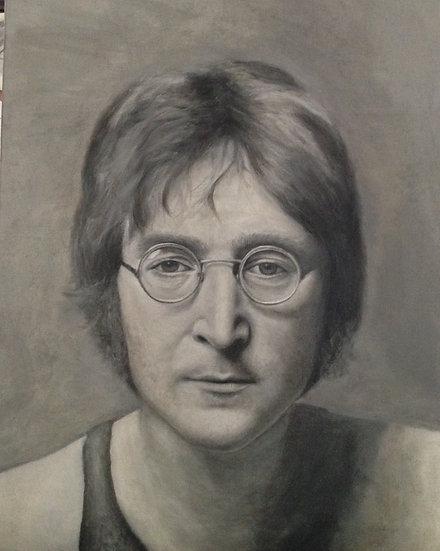 John Lennon | Shabana Kauser | Oil on Canvas