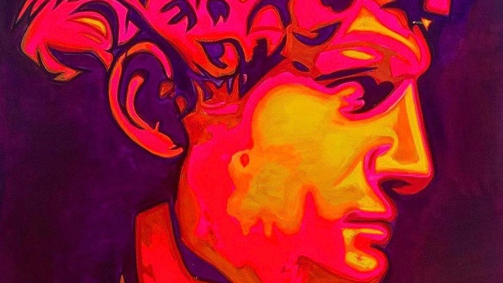 David   Luis Atilano   Acrylic on Canvas
