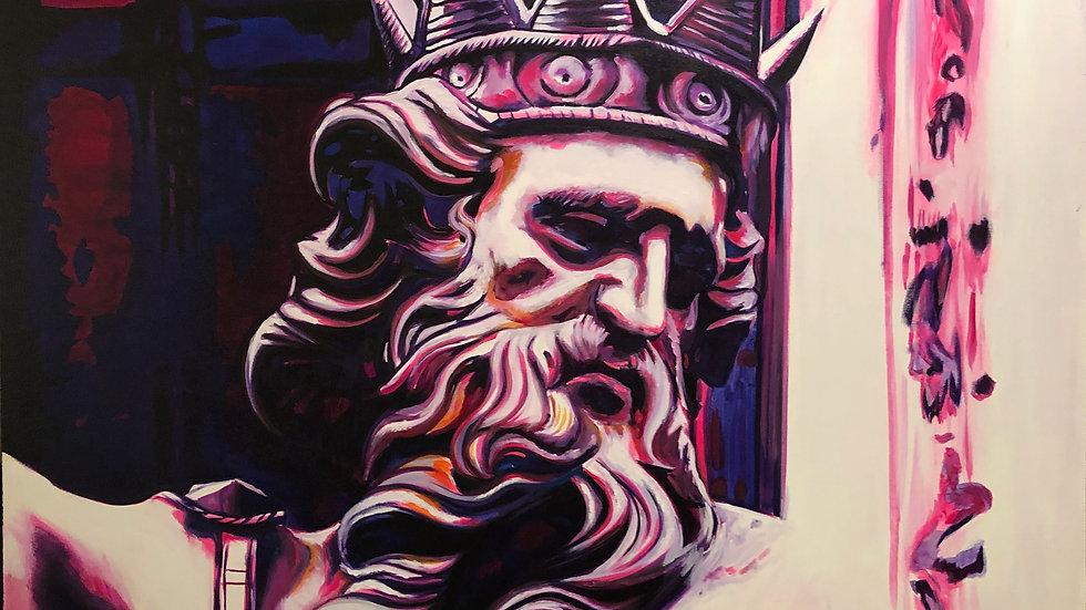 Poseidon | Luis Atilano | Acrylic on Canvas