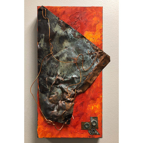 Melting | Susie Henley | Mixed Media on Canvas