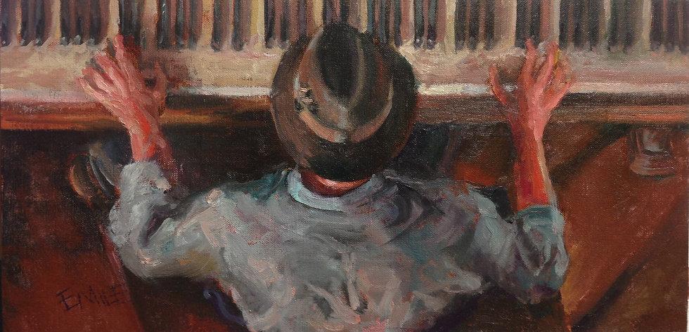 Jazz Hands |  Jennifer EMILE Freeman | Oil on Linen