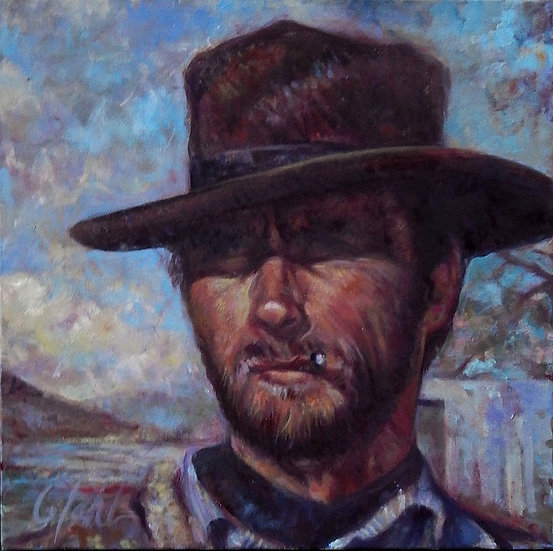 The Man With No Name | Greg Lahti | Oil on Canvas