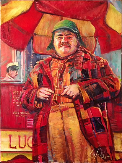 Ignatius J. Reilly | Greg Lahti | Oil on Canvas