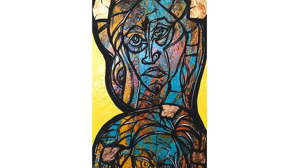 Saintly Women | Jean da Silva | Acrylic on Canvas