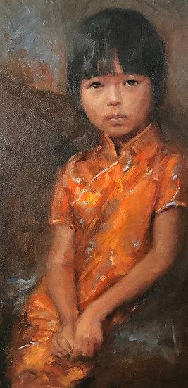 Uncertain Future | Jennifer EMILE Freeman | Oil on Linen