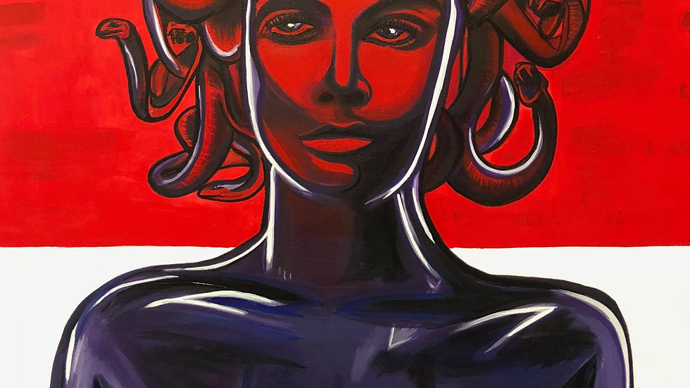 Falling in Love   Luis Atilano   Acrylic on Canvas