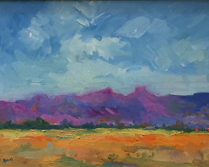Purple Mountain | Ron Almond | Oil on Canvas