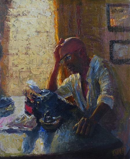 Nothing Left to Say | Jennifer EMILE Freeman | Oil on Linen Panel